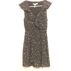 BCBGeneration starry night galaxy ruffle dress